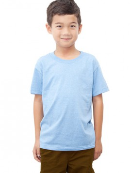 YOUTH NEON SKY BLUE HEATHER